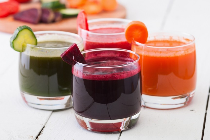 Naturalne soki odżywiające skórę